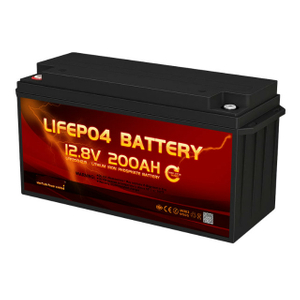 12volt 200ah Auto Heating Lithium Battery with temperature protection auto shut off function